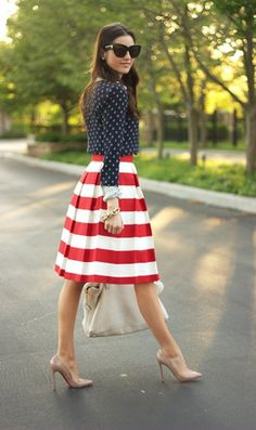 4th of July chic  CLICK THE PIC and Learn how you can EARN MONEY while still having fun on Pinterest