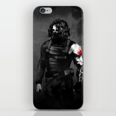 bucky barnes ipod case | Who the hell is Bucky? iPhone & iPod Skin by Charlotvanh | Society6