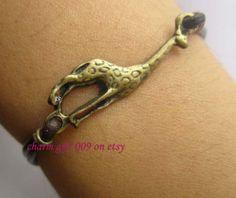 Restoring ancient ways is the giraffe bracelet by Charmgift009, $0.20