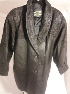 Outbrook Women's Black Leather Jacket 2X