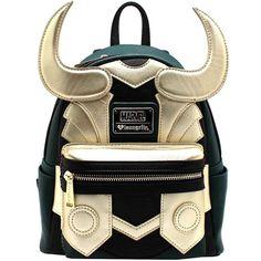 "NEW Loungefly x MARVEL ""LOKI RAGNAROK"" Mini Faux Leather Backpack - SALE #Loungefly #LOKIRAGNAROKMiniFauxLeatherBackpack"
