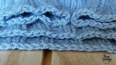 Como cerrar los puntos de forma elastica-Soy Woolly sin tension