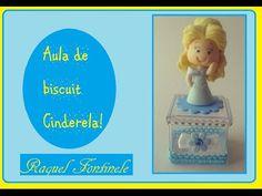 DIY - Aula Cinderela 2015 - Aula de biscuit - Raquel Fontinele