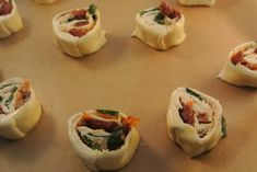 DSC_0777 Cold Meals, Yummy Snacks, So Little Time, Finger Foods, Sushi, Bacon, Appetizers, Ethnic Recipes, Cold Food