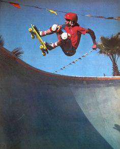 Alan Gelfand, Del Mar, 1979 #Skateboarding