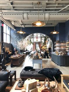 A view from The Guild looking into the café, La Mercerie. Italian Interior Design, Scandinavian Interior Design, Restaurant Interior Design, Flat Interior, Interior Ideas, Interior Doors, Coffee Shop Design, Cafe Design, Design Design