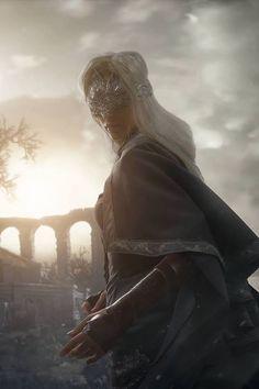 "Dark Souls 3 - Fire Keeper Cosplay - Anna ""Ormeli"" Moleva Photo - Aku (https://www.facebook.com/mouryounohako/)"