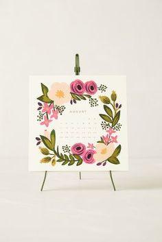 rifle 2014 floral calendar