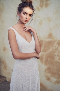 Anna Campbell 2019 Wedding Dresses - Wanderlust Bridal Collection - Belle The Magazine Anna Campbell Dress, Anna Campbell Bridal, Bridal Collection, Dress Collection, Blair Dress, Bohemian Bride, Modern Bohemian, Designer Wedding Dresses, The Dress
