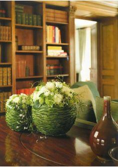 Natural flower arrangement ~Geert Pattyn | Designers books