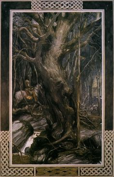 Pwyll, Price of Dyfed by Alan Lee for the Mabinogion