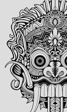 Barong tattoos