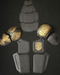 JUDGE DREDD FULL ARMOR SET COSTUME PROP REPLICA 2012
