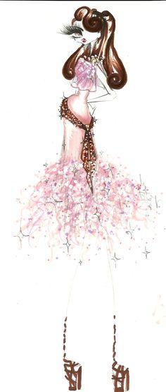 Disney Princess restyling- Megara by chiccas.deviantart.com on @deviantART