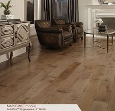 SELECTED FOR OUR BASEMENT - Somerset Floors | Wide Plank Collection, Maple Mist