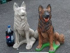 German Shepherd Dog Statue For Generations Sandicast Dog Statues Have Been Proudly Displayed In
