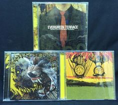 Evergreen Terrace CD/CDs Lot: Burned Alive By Time + Wolfbiker + Sincerity is an