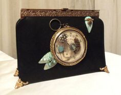 Popular items for steampunk purse on Etsy