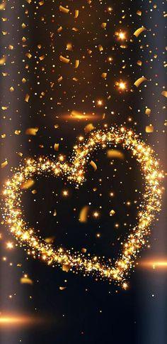 Sparkling Heart wallpaper by NikkiFrohloff - - Free on ZEDGE™ Glitter Wallpaper, Heart Wallpaper, Butterfly Wallpaper, Cute Wallpaper Backgrounds, Pretty Wallpapers, Tumblr Wallpaper, Love Wallpaper, Cellphone Wallpaper, Colorful Wallpaper