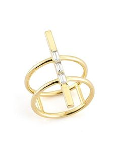 Elizabeth and James | Riley Ring  gold  Ring  Trendy High Fashion best deal  Elizabeth And James best deal