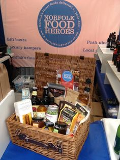 Chance to win a £100 Norfolk Food Hamper when you visit our stand at the Norfolk Chamber B2B exhibition on Thursday 15th October 2015
