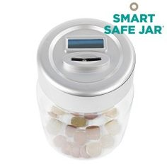 Smart Safe Jar Elektronická Digitálna Pokladnička