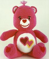 **   Love-A-Lot Bear -- Pattern saved
