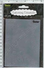 Darice Embossing Folder- Animal Tracks Pattern #1218-114