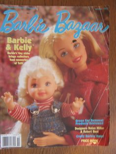 Barbie Bazaar Magazine 1998 October | eBay