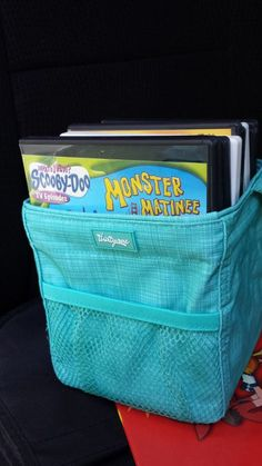 Another one for my Moms! Thirty One Little Carry-All to keep DVDs organized in the car!