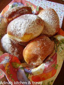 Romanian Desserts, Romanian Food, Beignets, Sweet Recipes, Cake Recipes, Gordon Ramsay, Food Cakes, Menu Restaurant, I Foods