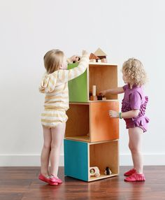 Stackable Cube Stora