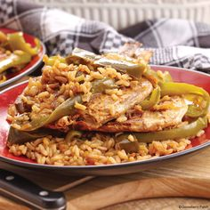 Gooseberry Patch Recipes: Pork Chops & Rice from our new cookbook Easy Classic Casseroles