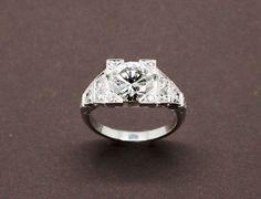 Bague Création Benoit Joaillier Diamant 2,06 Carats