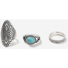 Topshop Ethnic Ring Multipack
