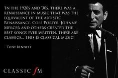 Tony Bennett on classical music