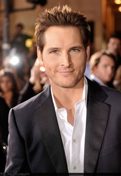 If i could marry ANY celeb it would without a doubt be Peter Facinelli