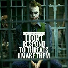 Hahaha the joker Heath Ledger Joker Quotes, Best Joker Quotes, Joker Heath, Badass Quotes, Joker Qoutes, Revenge Quotes, Gangsta Quotes, Joker Pics, Joker Images