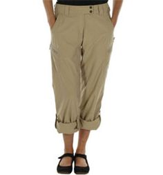 ExOfficio Women's Nomad Roll-up Pants - 32