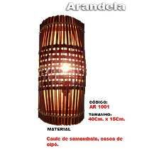 Luminária Artesanal - Arandela 1001