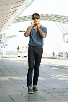 Choi Jin-hyeok (최진혁) - Picture @ HanCinema :: The Korean Movie and Drama Database Half Korean, Hot Korean Guys, Korean Men, Asian Men, Asian Guys, Korean Airport Fashion, Korean Fashion, Asian Actors, Korean Actors