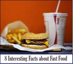 Fast food facts.