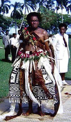 fijian chiefs | Fijian chiefs with and without mixed Polynesian ancestry