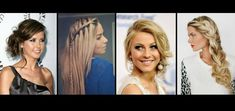 38 Ρομαντικά Hairstyles για του Αγίου Βαλεντίνου! Valentines, Romantic, Hair Styles, Valentine's Day Diy, Hair Plait Styles, Romantic Things, Valantine Day, Hairdos, Haircut Styles