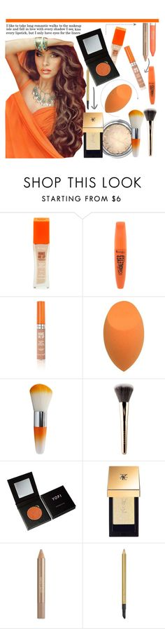 """Orange Is The New Black"" by misshonee ❤ liked on Polyvore featuring beauty, Rimmel, Croton, Sephora Collection, Yves Saint Laurent and Estée Lauder"