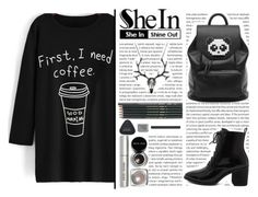 """""""SheIn #8"""" by selmagorath ❤ liked on Polyvore featuring Freddy and Bobbi Brown Cosmetics"""