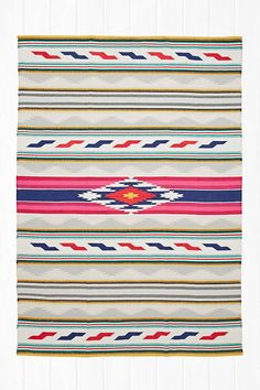 South West 5x7 Rug in Multicolour - Urban Outfitters