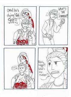Until Dawn comic based on this vine