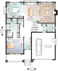30x40 2 bedroom house plans plans for east facing plot for 35x60 house plans