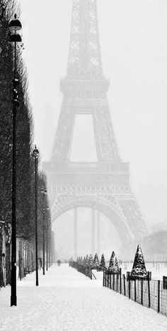 Travel The World.Winter in Paris - Eiffel Tower - France - Paris, is always a good IDEA! Places To Travel, Places To See, Places Around The World, Around The Worlds, Beautiful World, Beautiful Places, Beautiful Streets, Simply Beautiful, Wonderful Places